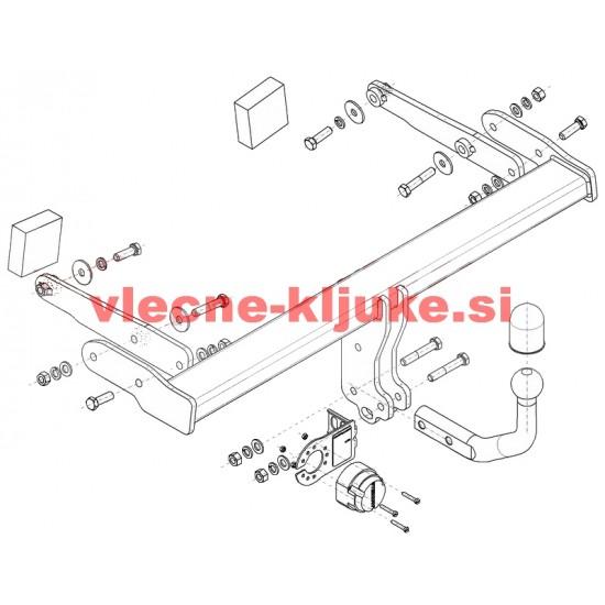 AUDI - A4 - (B9)4 vr. (vključno Quattro) (razen S line / S4) (A-053)